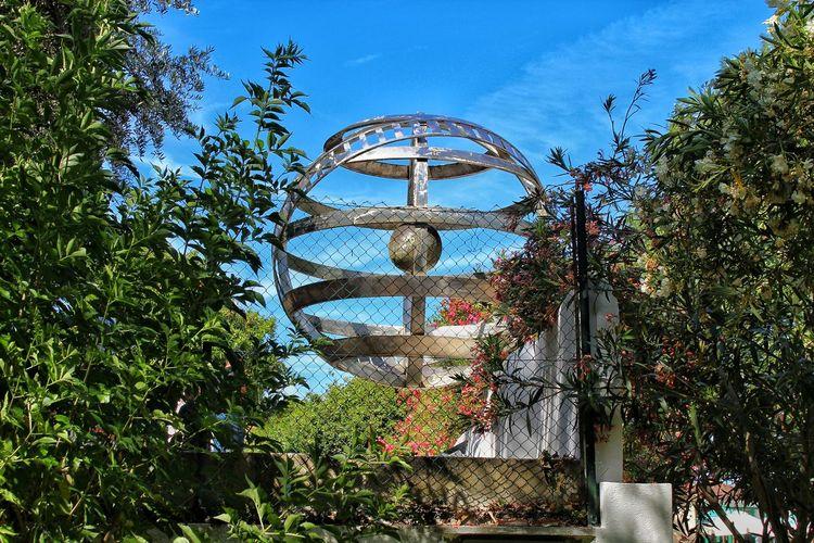 Armillary sphere. Armillary Sphere. Tree Sky