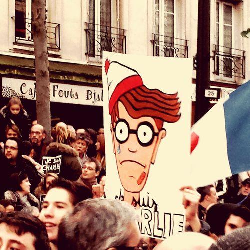 Jan 2015 Marcherépublicaine 11janvier2015 Noussommescharlie Liberté Paix Solidarité Paris France LibertéDexpression