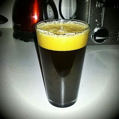 ...aaaand Black Licorice IPA! (Gotta drink heavily while listening to Mitt Romney pull stuff out of his heiney!) haha