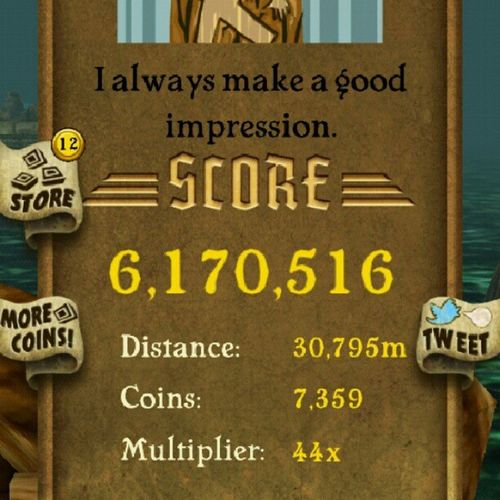 6 milli...Templerum Bored Newhighscore