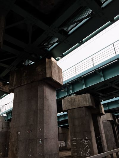 Built Structure Architecture Low Angle View No People Day Architectural Column Building Exterior Outdoors Sky Industrial Landscapes Industrial Photography