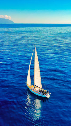 Nautical Vessel Yachting Sailing Sea Blue Water City Sailing Ship Sailboat Business Finance And Industry Ship Mast Water Vehicle Astrology Sign Passenger Craft Passenger Ship Tall Ship Seascape Container Ship Sailing Boat Nautical Equipment Cruise Ship Cruise Industrial Ship Commercial Dock Shipyard Ship's Bow Ferry Sagittarius