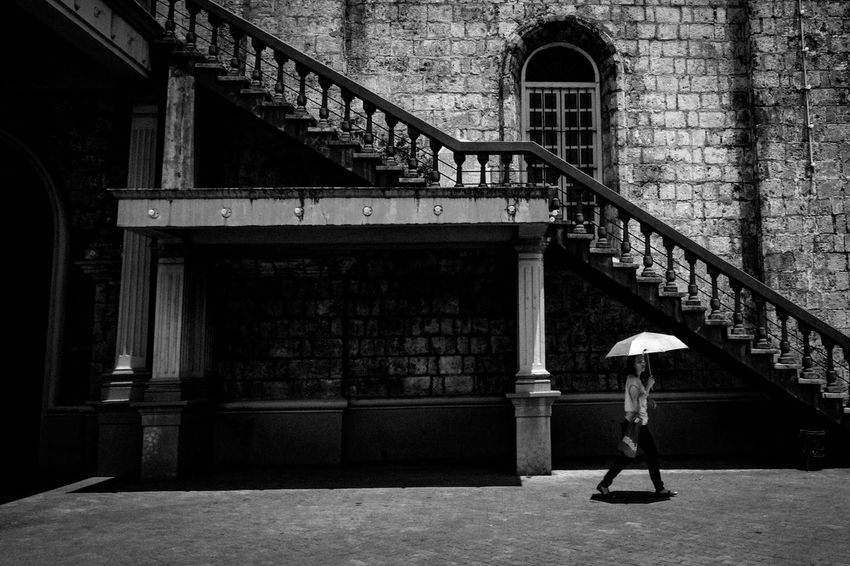 Fujifilm X-Pro2 XF18mmF2R. July 2016. Iloilo City. Street Photography Eyeem Philippines Monochrome Photography Light And Shadow Monochrome XF18mmF2.0 Xf18mm Fujifilm X-pro2 Fujifilm_xseries Architecture Iloilo The Street Photographer - 2017 EyeEm Awards