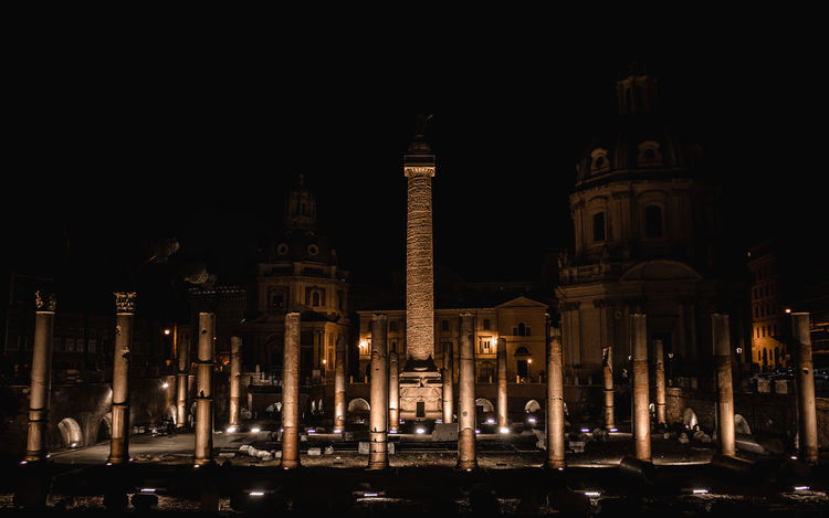 Ancient Ancient Civilization Architectural Column Architecture Building Exterior Built Structure City Dome History Illuminated Night No People Outdoors Place Of Worship Religion Sky Spirituality Tourism Travel Travel Destinations EyeEmNewHere Been There.