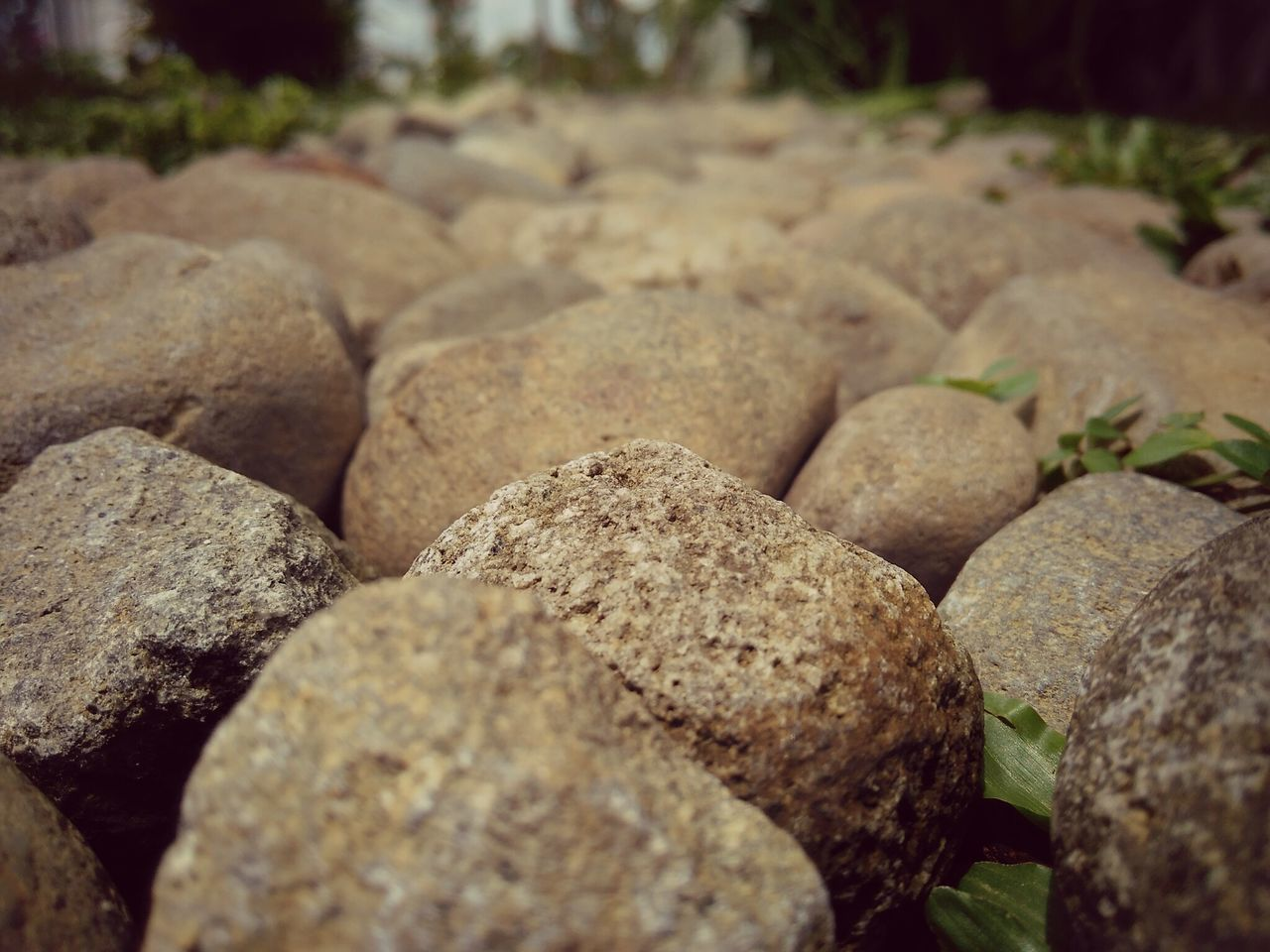 rock - object, no people, close-up, nature, textured, pebble, focus on foreground, full frame, backgrounds, outdoors, day, pebble beach, freshness
