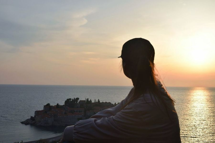 #Bestfriend #photography #ByMe #montenegro #travel #Nature  #sea Sunset Sea Water Sun