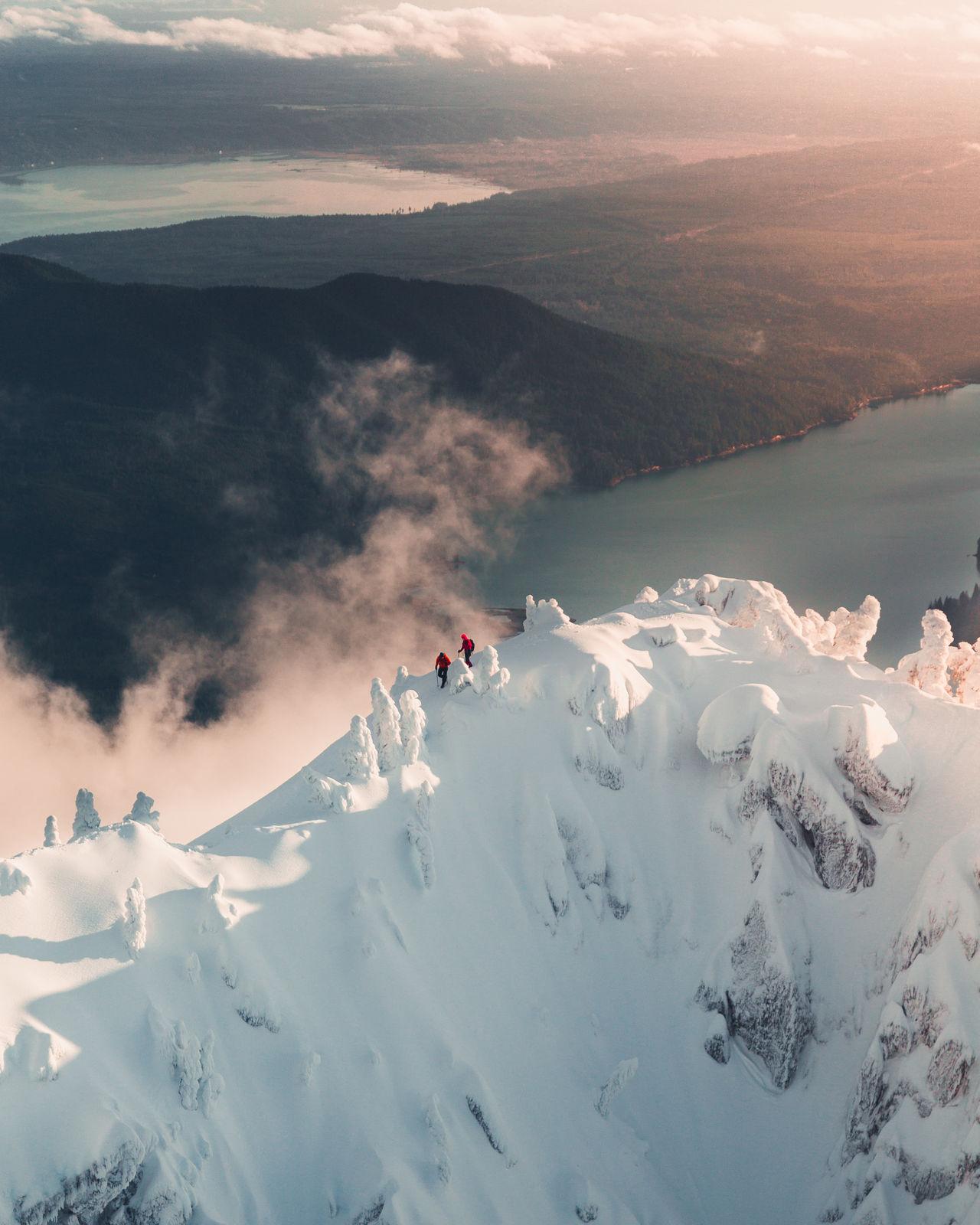 mountain, scenics - nature, beauty in nature, mountain range, leisure activity