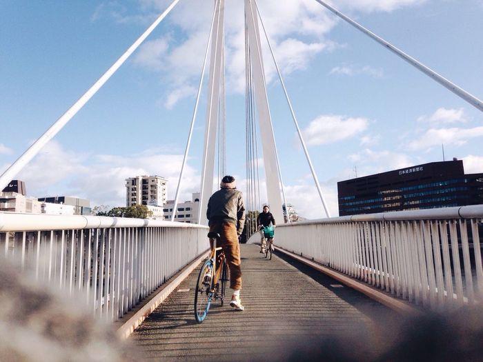 Cycling My Boyfriend ❤ Enjoying Life IPhoneography Everyday Joy