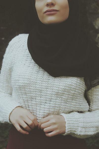 Hijab Hijabstyle  Women Fashion Hijabgirl Hijabbeauty Tesettur Siyah Darkness And Light