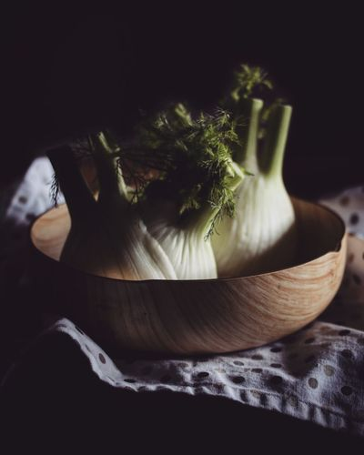 EyeEmNewHere Food Food And Drink Freshness Vegetable Healthy Eating Garlic Indoors  Garlic Bulb Table No People Close-up Black Background Herb Flower Day
