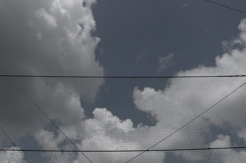 Net Screen Backstop Cloud - Sky Sky Day No People Built Structure Architecture Nature Sunlight The Still Life Photographer - 2018 EyeEm Awards