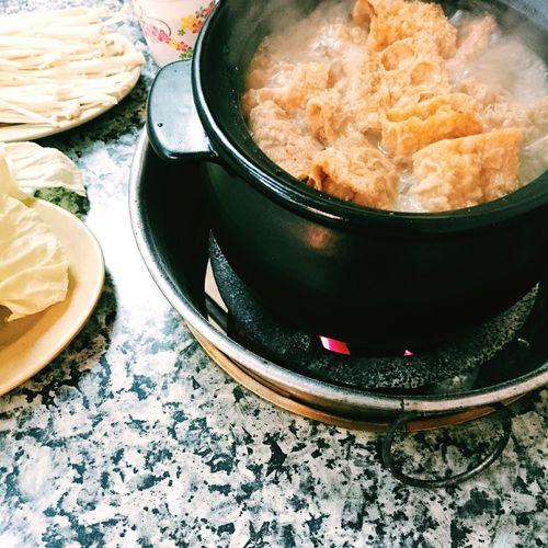 微冷,吃鴨🐥。 Food Dinner Hot Pot 薑母鴨