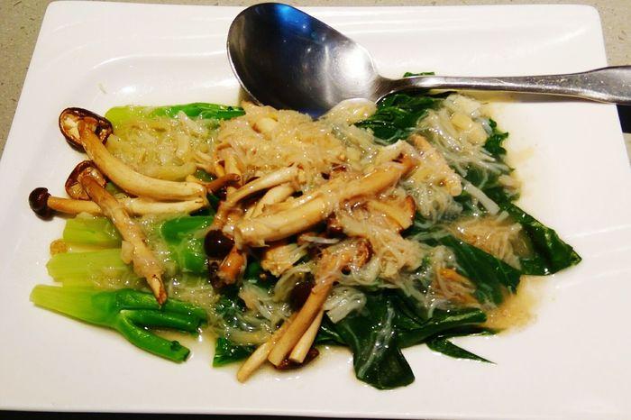 干貝芥蘭 Scallops with Broccoli ホタテとブロッコリーの炒め物 滿穗台菜 MansuiTaiwaneseCuisine 満穂では