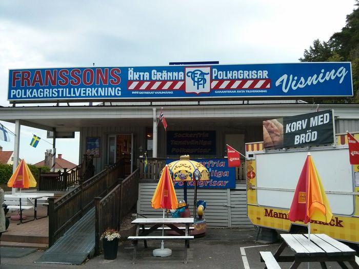 Polkagrisar in Gränna - candy isn't always sweet.