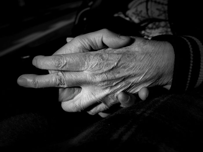 Blackandwhite Human Hand Human Body Part Human Finger Close-up Bonding Two People