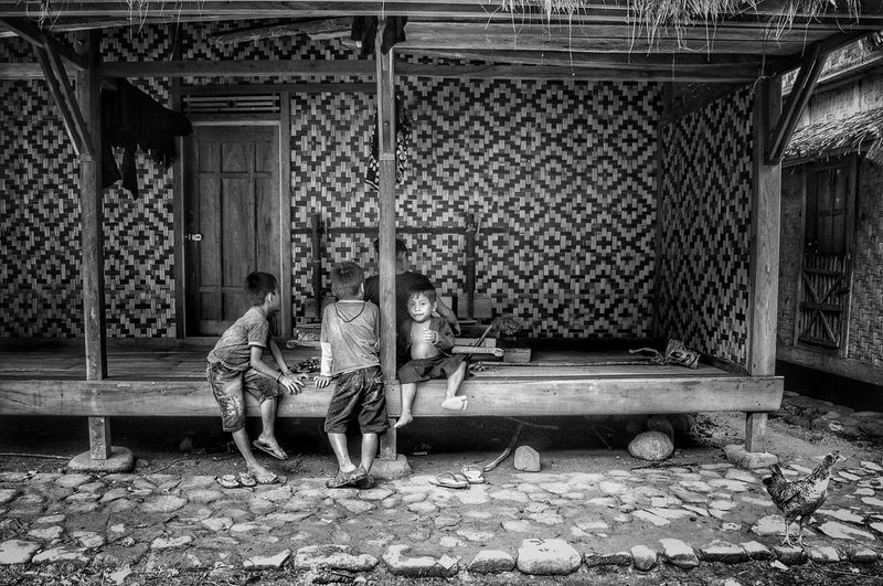 every child is an artist Sitting Full Length Relaxation Lifestyles Togetherness Love INDONESIA Indonesia_allshots Kid Kids Kidsportrait Kids Photography Children Children Photography Children Portraits Baduy Monochrome blackwhite Day Person Outdoors