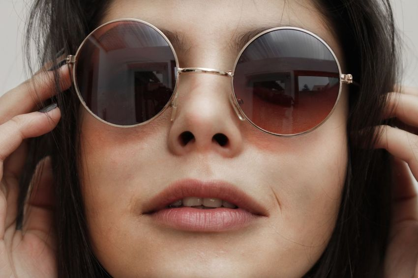 Adult Beauty Close-up Day Eyesight Human Body Part Human Face Human Hand Millennial Pink One Person One Woman Only One Young Woman Only Only Women Outdoors People Sunglasses Young Adult Break The Mold Sommergefühle