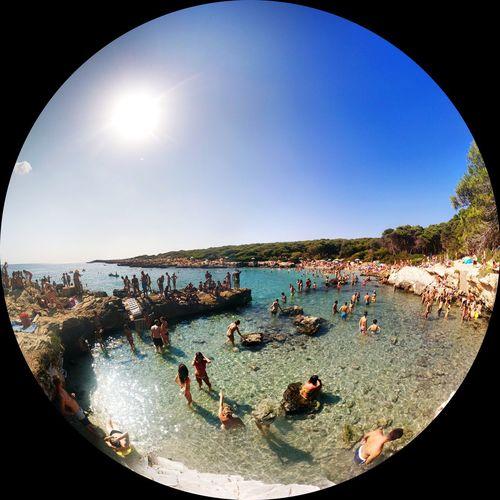 Panorama Fisheye Puglia Nexus5 Salento Puglia Salento Puglia2016 Pugliagram Puglia South Italy Mare ❤ Portoselvaggio