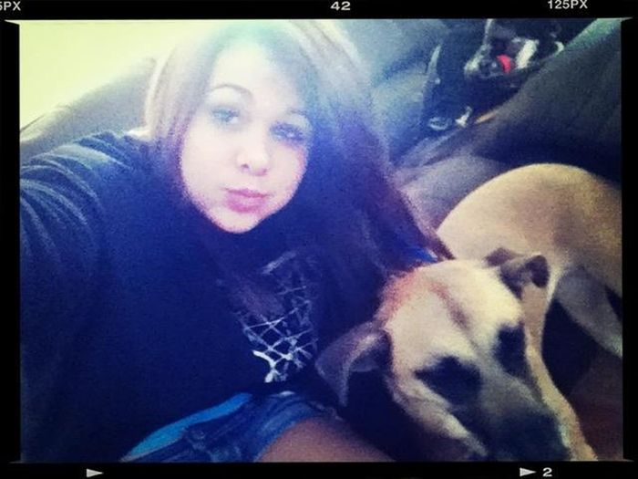 Me and my puppy xD