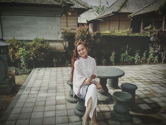 bali Bali, Indonesia Panglipuranvillage TryingToBeCute Women Redhair
