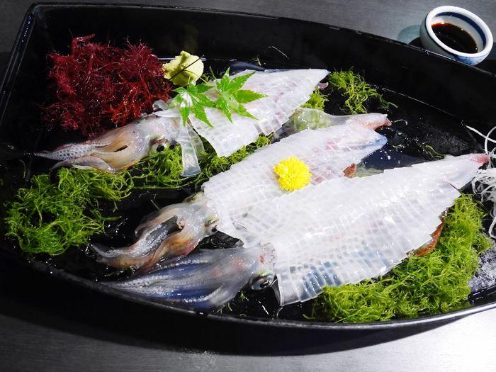 呼子 河太郎 イカ 活き造り Meal Japanese Food Healthy Eating Seafood Enjoying Life Lumix Gf7