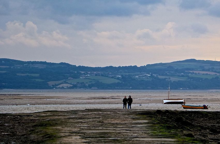Beauty In Nature England Mountain Mudflats Outdoors Real People Scenics Sea Togetherness Tranquility Water Wirralcountrypark