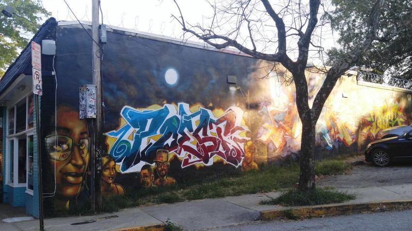 Graffiti Littlefivepoints Atlanta, Georgia