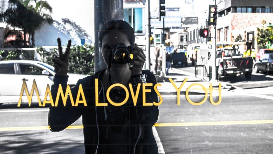Mama Loves You Hollywood California California Love Cat City Friendlylocalguides Los-angeles Loves Mama Nature Nook Sign Summer Summer-time USA Visit You
