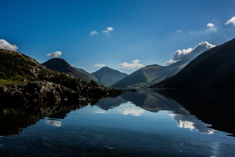 Wastwater in the Lake District - Reflection Beauty In Nature Countryside Lakedistrict Landscape Mountain Mountain Range Nature Openwater Outdoors Reflections Scenics Tranquil Scene Tranquility First Eyeem Photo