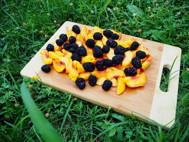Grass Food And Drink Fruit Freshness Green Color Food Healthy Eating Ready-to-eat Cutting Board EyeEmNewHere Home Lifestyle Large Group Of Fruits Slices Sliced Peach Peaches Wooden Cutting Board Berries Berry Fruit Cooking At Home Food And Drink Fruits Blueberries The Week On EyeEm Breathing Space Mix Yourself A Good Time Food Stories