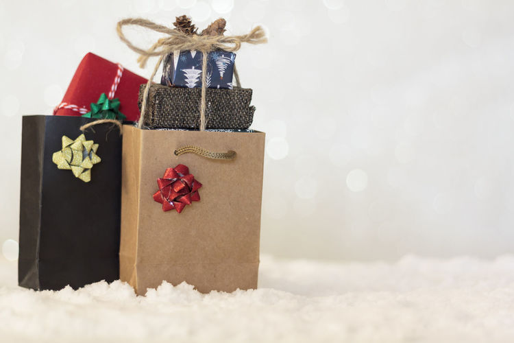 Christmas decoration in box