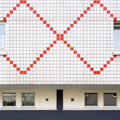 BerlinKreuzberg gegenüber von der Berlinischegalerie Altejakobstrasse Froweinspangenberg Kachelromantik Quadratischpraktischgut Quadratischpraktisch Quadratischpraktischarchitektur