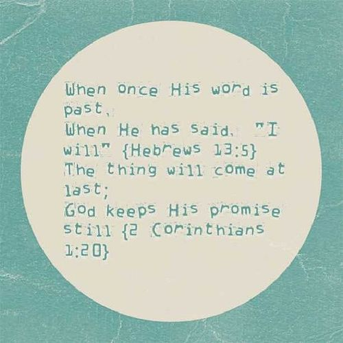 Gods' promise is no joke; Gods words are not mere; When God says, it is so! AChristiansFaith Faith UnApologeticChristian Jesuslover 2014 GodsWordsNeverLie