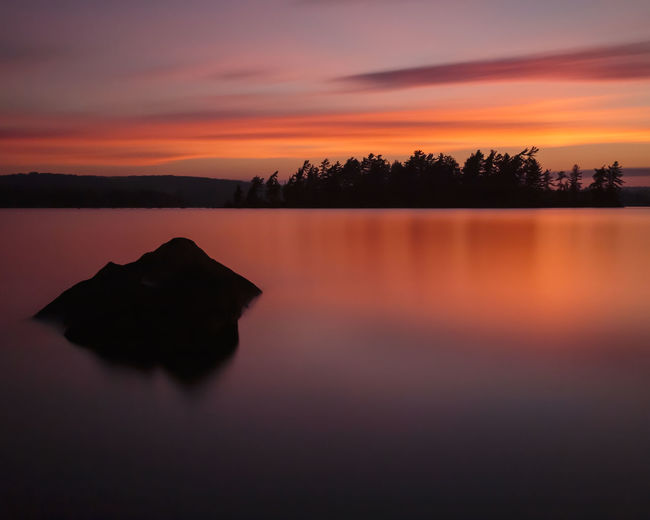 A sunset over Eagle Lake, Ontario, Canada Canadian Eagle Nature Ontario Beauty In Nature Canada Cloud - Sky Lake Landscape Nature No People Outdoor Outdoors Reflection Scenics Silhouette Sky Sunset Tranquil Scene Tranquility Tree Water Waterfront