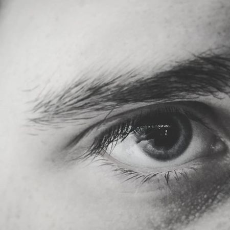 The true way to see, the way somebody loves you Photographyislifee Reflection Eye Monochrome Nocolour LG  LGG4 G4 Focusing Photo Eyes Grey Dark Photoediting