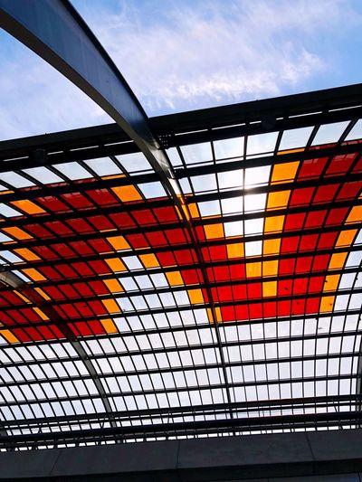 Outdoor roof of