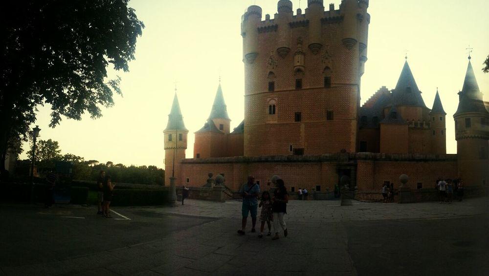 Segovia Alcázar Segovia Hello World