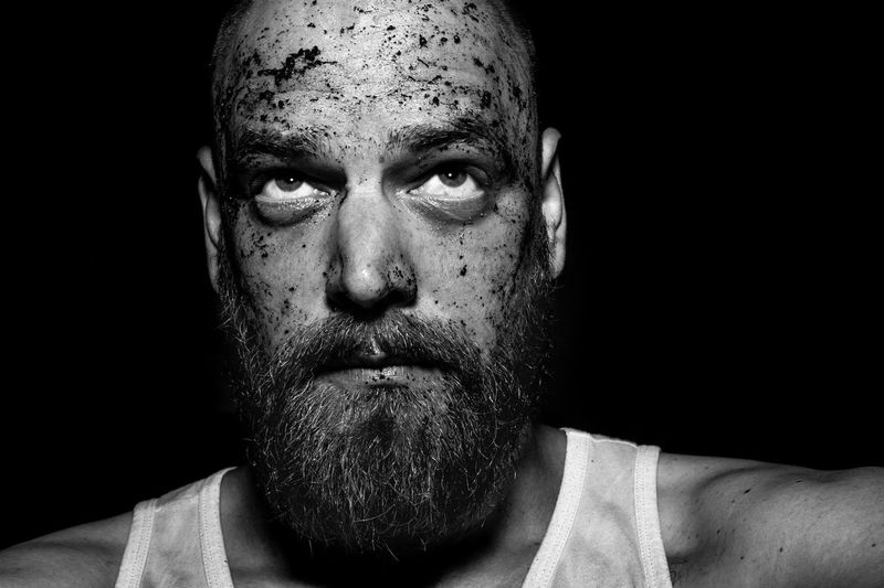 Self Portrait Mud Beard Portrait People Photography That's Me Rainy Days Flash Check This Out