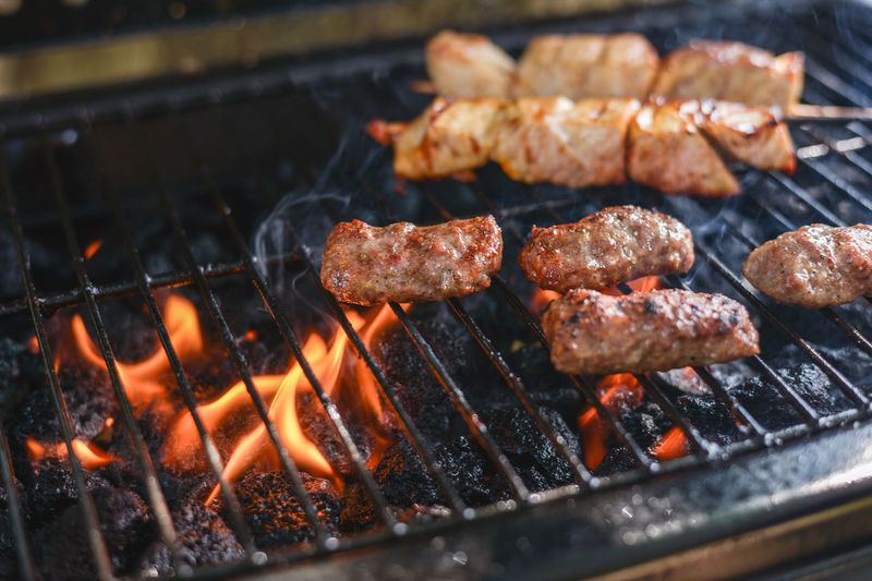 Barbaque Barbecue Barbecue Grill Barbecue Season Barbecuetime BBQ BBQ Time Beef Cevapi Coal Cooking Fire Flame Glowing Grill Grilled Grilled Chicken Grilled Meat Grilling Grilling Out Heat - Temperature Kitchen Meat Smoke Cevapi Live For The Story