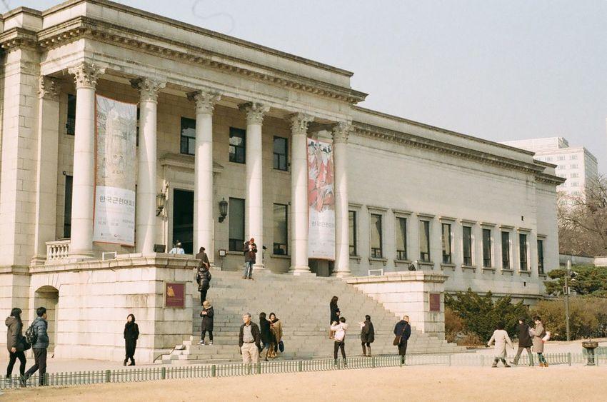 Deoksu Palace National Museum Of Contemporary Art Filmcamera Hello World Hi! Film Photography Kodak Color Plus200 NIKON FE2 35mm Film 35mm Camera