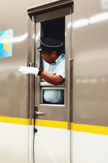 EyeEm Selects Public Transportation One Person Mode Of Transportation Transportation Real People Train - Vehicle Rail Transportation
