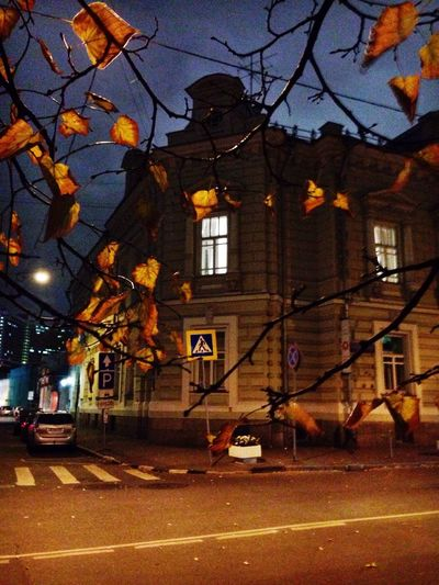 Autumn Moscow Evening
