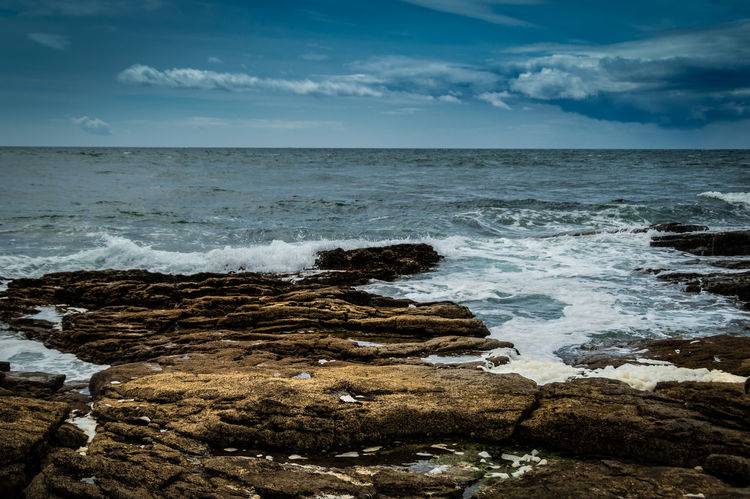 Hook Head, Ireland Horizon Over Water Ireland🍀 Motion Ocean Power In Nature Rippled Scenics Sea Seascape Splashing Surf Water Waterfront Wave Wexford