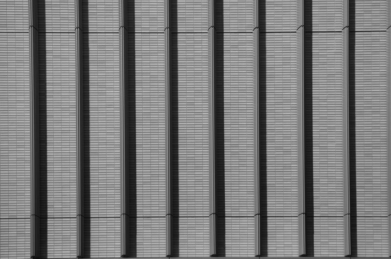 Texture of building. Aluminum Backgrounds Blinds Brushed Metal Building Close-up Corrugated Iron Day Full Frame Metal Metal Industry No People Outdoors Pattern Shutter Silver Colored Steel Texture Textured