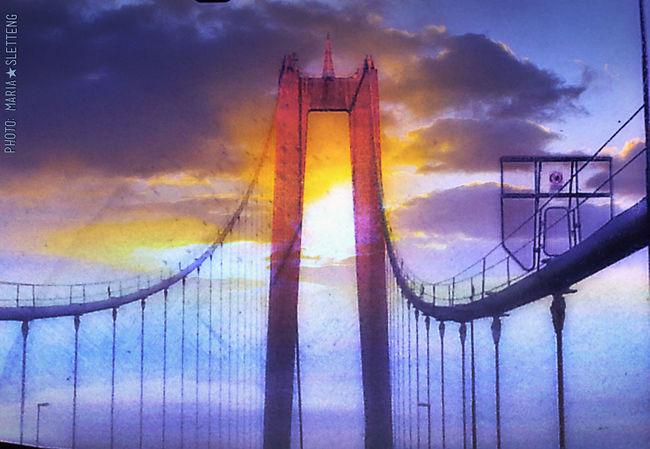 Högakusten bridge Sweden Hello World Högakustenbron Högakusten Cars Driving Sun Eyeemmarket