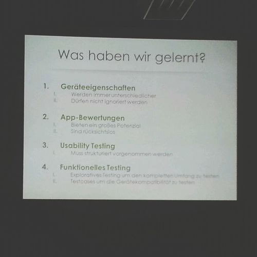 Usability Learnings @ Webmontag