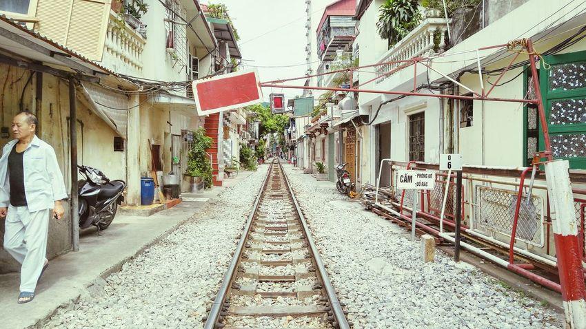 I Love My City EyeEm Vietnam Vietnam Urban Travel Wanderlust Traveling Train City