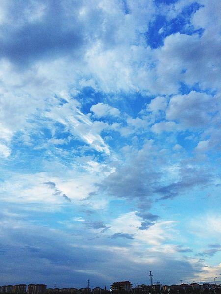 Sky Skyporn Sky And Clouds Sky_collection Sky_collection Clouds And Sky Clouds Cloud Nature Nature_collection Nature Photography Naturelovers EyeEm Best Shots EyeEm Nature Lover Eye4photography  EyeEm Gallery Hello World Helloworld Blue Blue Sky White Popular Photos Popular Hello World Relaxing