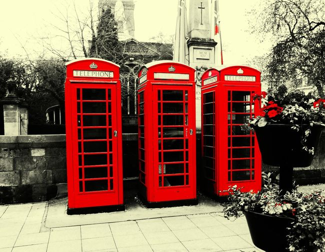 Red Telephone Box Urban Photography Northampton Streetphotography Uk Red Filter