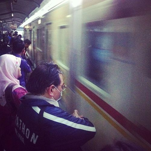 Running out of time.. Instagood Train Commuterline Time moving panning indonesia iphonesia